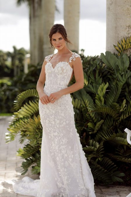 Capri wedding dress by Dora Sasu